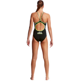 Funkita Diamond Back One Piece Badpak Dames, moonlighting